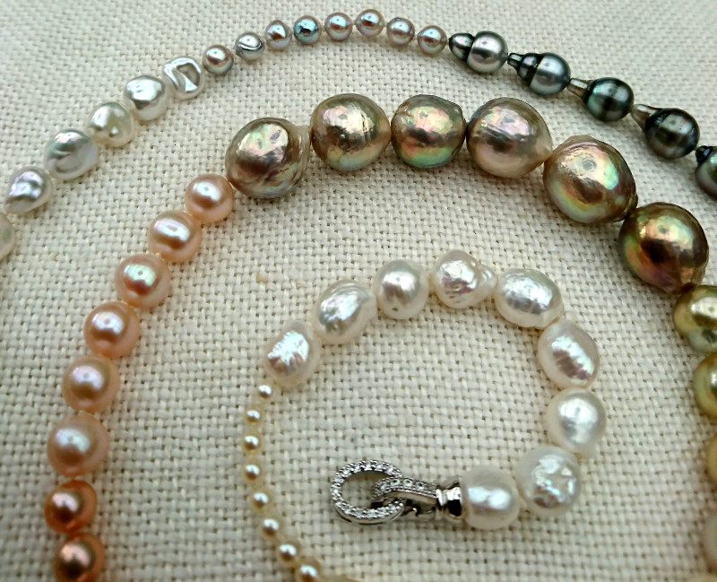 a0e6c74ad We're all agreed that if we tried this it would look like left over pearls  strung together!